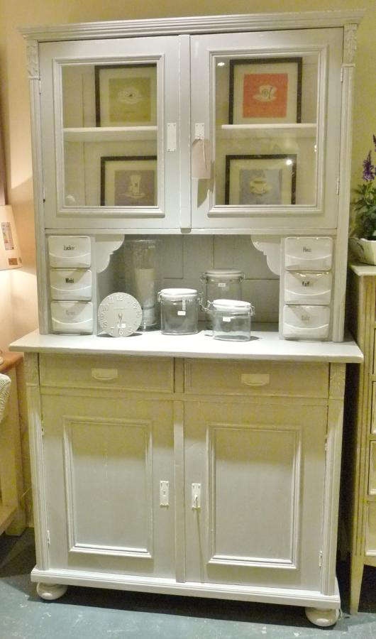 Painted Pine Cabinet