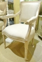 Oak & Linen Armchair - picture 1