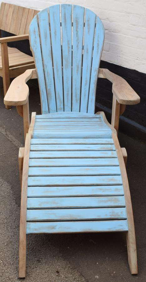 Adirondack Chair With Footrest