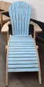 Adirondack Chair With Footrest - picture 1
