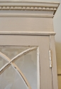 Painted Gothic Glazed Cabinet - picture 2
