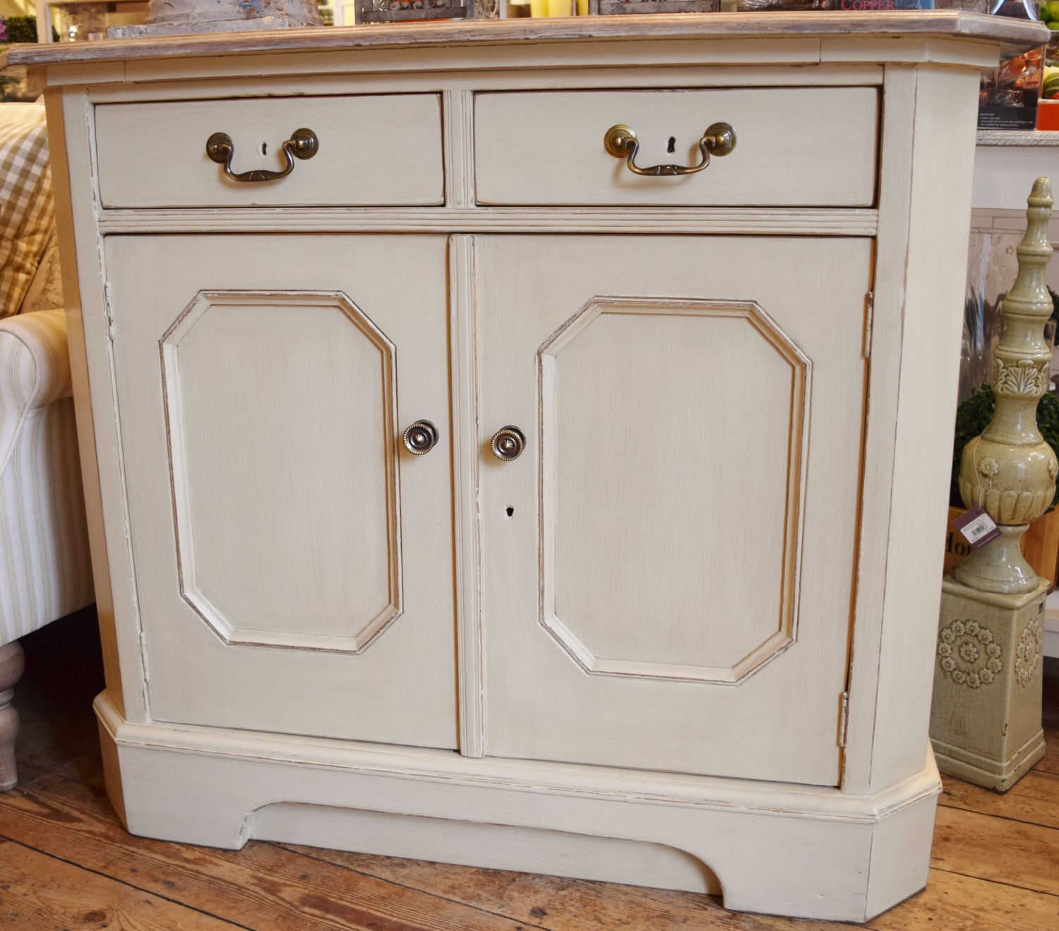 Vintage Painted Sideboard