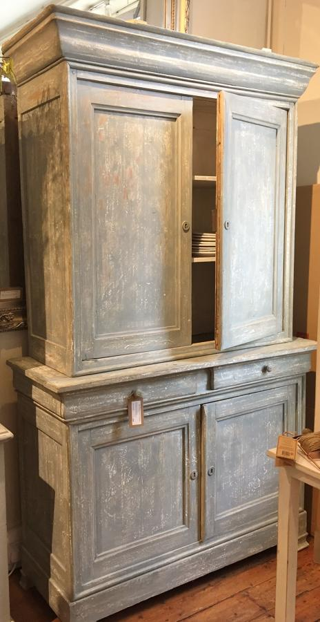 Painted French cupboard