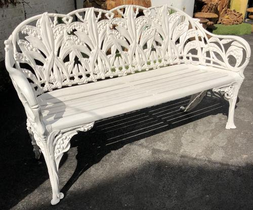 Lily of the valley bench