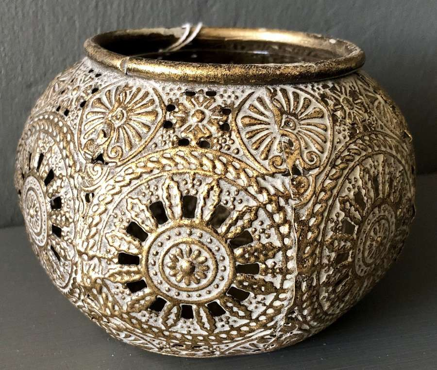 Moroccan style candle holder