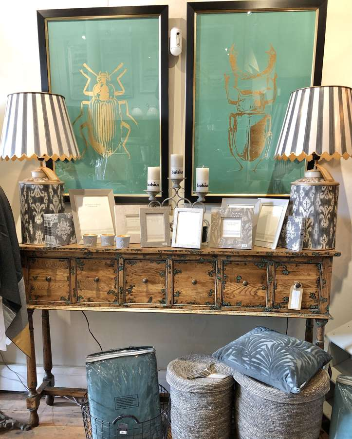 Tall console table