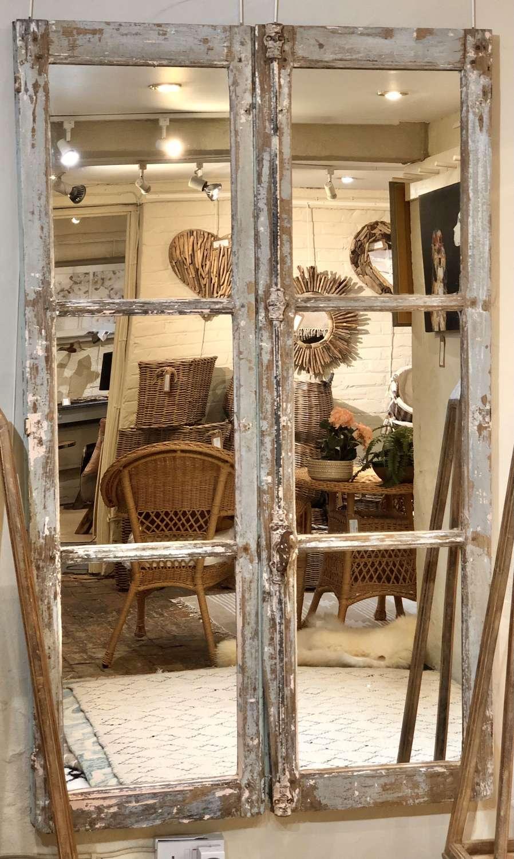French door mirrors