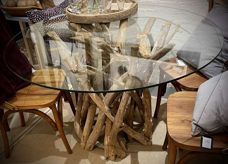 Driftwood dining table